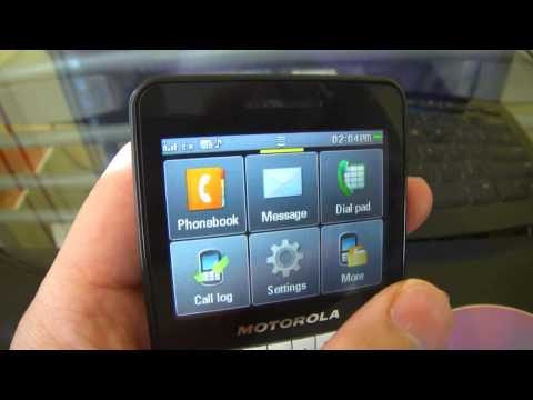 motorola ex 223 small qwerty text phone review