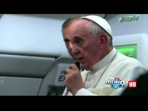 'Who am I to judge?': Pope Francis reaches out to gay community