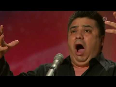 Sweden got Talent 2010 - Freddy Amigo sings an amazing granada. Talented like Paul Potts and Susan Boyle! He works as a Nurse and sings like Paul Potts! The ...