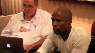 FLOYD MAYWEATHER - 'ADRIEN BRONER STILL HAS A LOT TO LEARN, INSIDE & OUTSIDE OF THE RING'