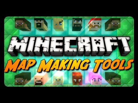 Minecraft Mod Review: MAP MAKING TOOLS! (Custom Player Heads. Super Potions & More)