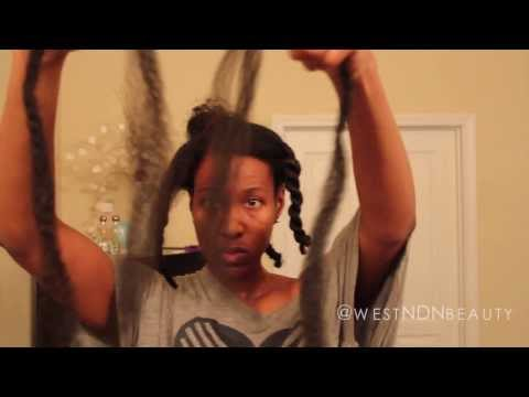 How To  Invisible Root Twists using Marley Braid Hair (Long Havana Twist)