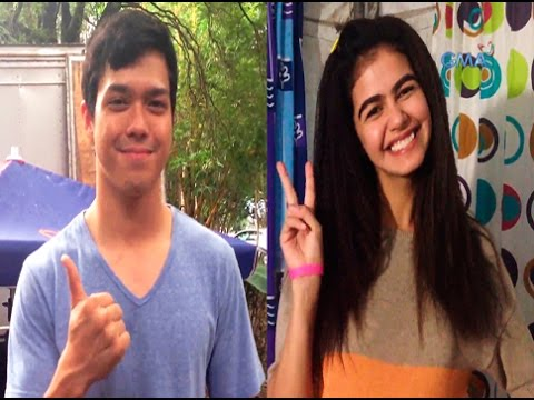#VideoShoutout from Janine Gutierrez and Elmo Magalona