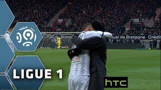 Goal Pierrick CAPELLE (30') / EA Guingamp - Angers SCO (2-2)/ 2015-16