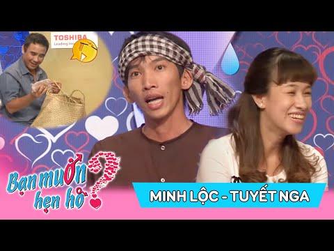 Quyền Linh cười tít mắt với chàng Hai lúa lên Sài Gòn kiếm 'ghệ' | Minh Lộc - Tuyết Nga | BMHH 46😆 | bạn muốn hẹn hò