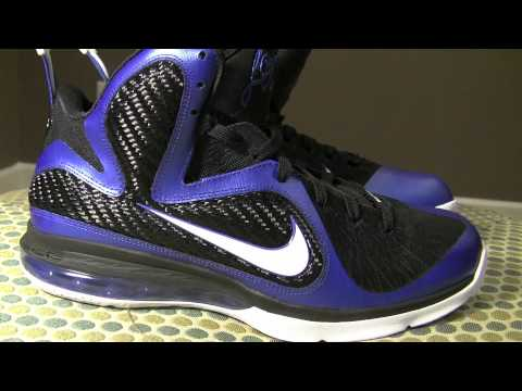 Lebron 9 Kentucky WIldcats Shoe Review