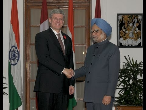 State Visit of Prime Minister of Canada: Signing of Agreements and Media Statements