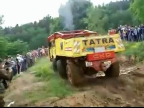 Tatra 815,813 truck trial extreme off-road part1