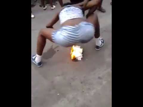 Too Crazy: Jamaican Girls Dance On A Fire! Twerking on another level? thumbnail