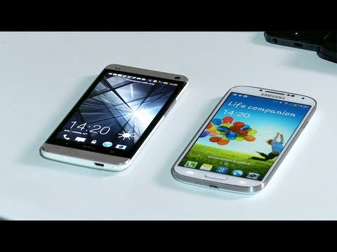 Smartphone face-off: HTC One v Samsung Galaxy S4 technology review