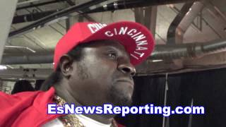 adrien broner father on his son win EsNews boxing