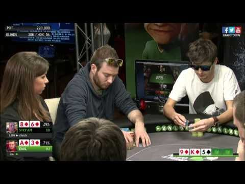 Unibet Open Copenhagen 2014 - Main Event, Final Table. HD