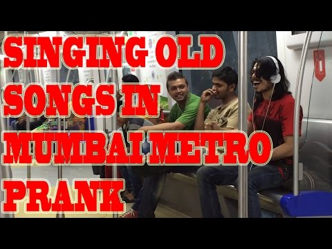 EPIC Singing Old Songs in Mumbai Metro | WTF INDIA PRANKS