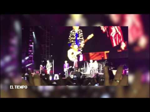 Los Rolling Stones Cantan Con Juanes | El Tiempo | Marzo 10