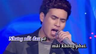 [Karaoke] Ngược Chiều Yêu Thương | Hồ Quang Hiếu | Beat Gốc