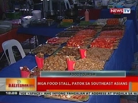 BT: Mga food stall, patok sa Southeast Asians