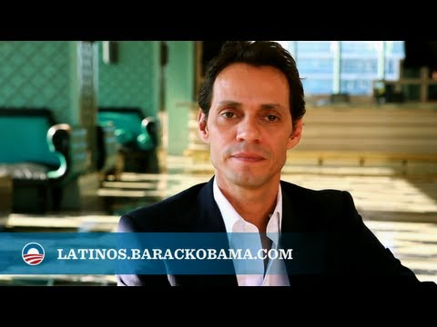 "Marc Anthony: ""The President has our Back."""