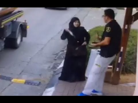 CCTV: Palestinian woman stabs guard amid checkpoint chat