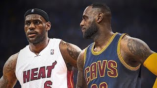 LeBron James Meets LeBron James Both Playing on the Same Team (Cleveland Cavaliers)