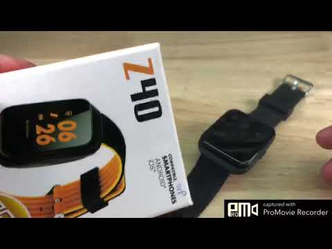 Smart Watches Z40 Activity Smart Watches ระบบเต็ม ฟังก์ชันครบ