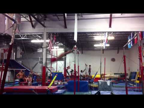 Danell Leyva High Bar routine 6/16/11