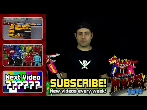 Dino Charge Megazord Review! (Power Rangers 2015)
