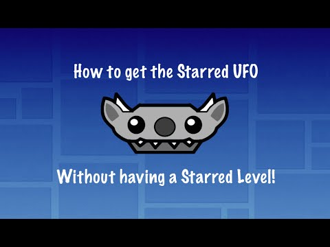 How to get the Starred UFO + Other Exlusive Icons! | Without a starred level!