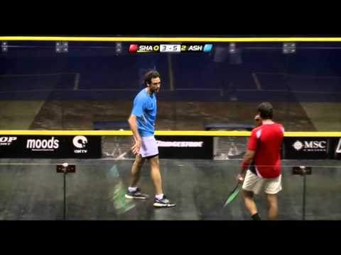 Squash: April Shot Of The Month - Shabana