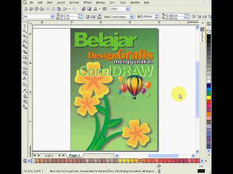 Desain Cover Buku Menggunakan CorelDRAW