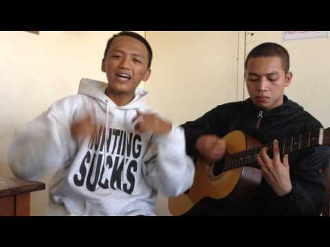 Young Lex ft Afrogie - Teman Palsu ( Acoustic Cover by Mucles ft Fauzan ) #TemanPalsu