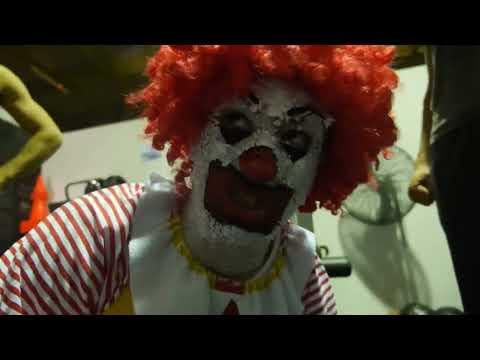 Ronald McDonald hits the GYM!