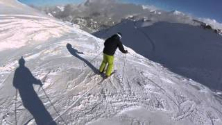 GoPro Skiing in Courchevel January 2016
