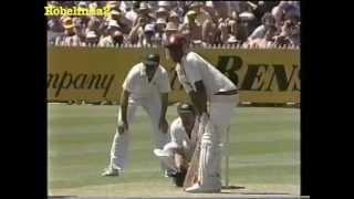 1984/85 4th test Australia vs West Indies MELBOURNE highlights