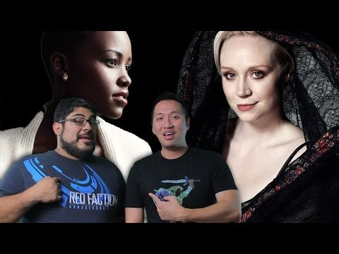 Star Wars Episode 7 gets Lupita Nyong'o & Gwendoline Christie (John and Mike Show)