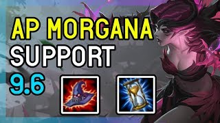9.6 AP MORGANA SUPPORT DIAMOND - LEAGUE OF LEGENDS
