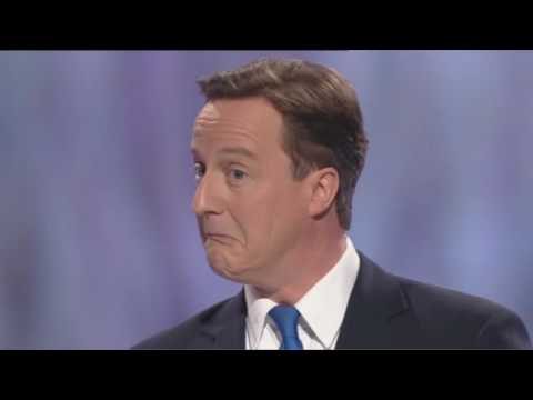 UK Leaders Election Debate mashup