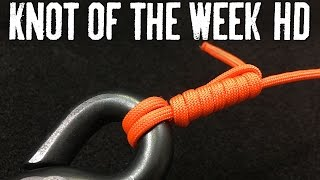 Secure a Fishing Hook in Low Light with the Uni Knot - ITS Knot of the Week HD