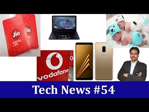 Tech News #54 | Vodafone Plan Revise | Jio Eyes RCom | Samsung Galaxy A8+
