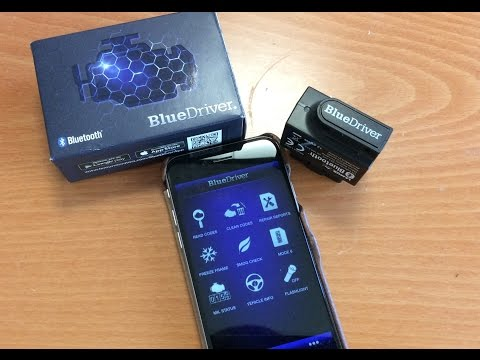 BlueDriver Bluetooth OBDII Scan Tool Review