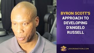 Byron Scott's Explains Why He's Not Playing D'Angelo Russell More Minutes