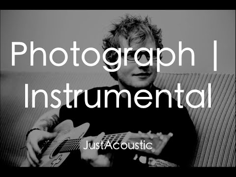 Photograph - Ed Sheeran (Acoustic Instrumental)