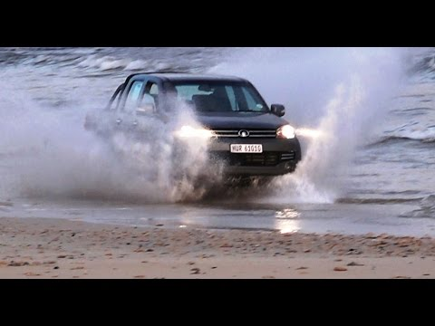 2015 GWM Steed 5 pickup review at the beach