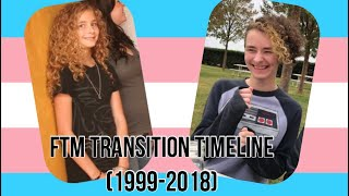 FTM Transgender Transition Timeline (1999-2018)