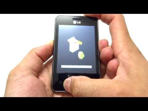 Hard Reset LG E400f / E405f Optimus L3    Como Formatar. Desbloquear. Travado