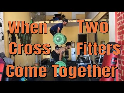 When Two CrossFitters Come Together | Calisthenics | Super Singh