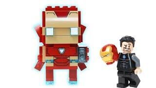 Brick Building Lego Iron Man mark50 - marvel Superhero fun Animation