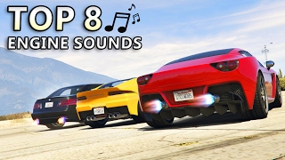 GTA V - Top 8 Best Engine sound Cars