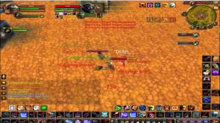 World of Warcraft Cataclysm Patch 4.0.6 MM Hunter & Feral druid PvP 2v2 Arena vs Rouge and Priest