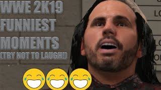 WWE 2K19 Funniest Moments (You Laugh You Lose!)