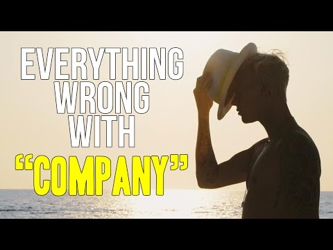 "Everything Wrong With Justin Bieber - ""Company"""